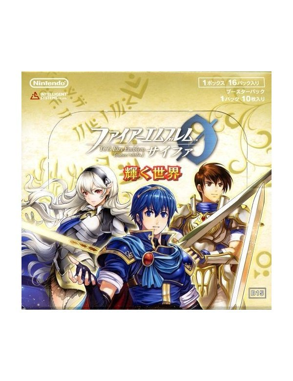 16 packs Fire Emblem 0 Cipher Booster Pack Part 15 The Glimmering World BOX