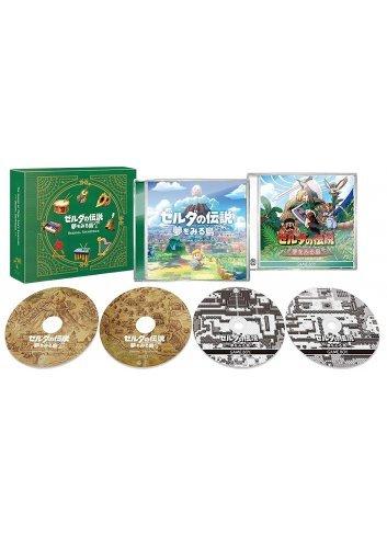 Zelda Link's Awakening OST -Switch & GB edition- (4 CD)