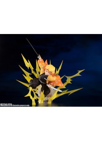 Figuarts Zero - Zenitsu Agatsuma -Breath of Thunder- - Bandai Spirits