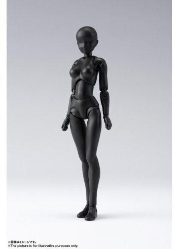 S.H.Figuarts Body-chan DX Set 2 (Solid Black Color Ver.) - Bandai Spirits