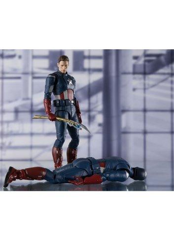 * Nouveau * Marvel: Captain America Figuarts Action Figure S.H cap Vs Cap Edition