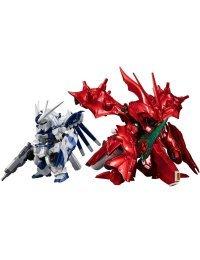 FW Gundam Converge:Core Hi-v Gundam & Nightingale (Limited Metallic Color ver.) - Bandai
