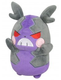 Pokémon All Star Collection Plush PP162 Morpeko Hangry Mode (S Size) - Sanei-boeki