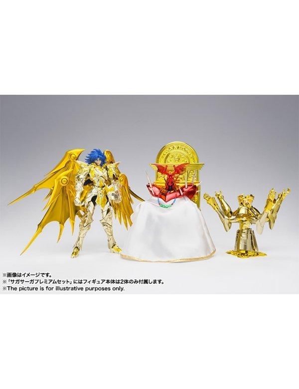 Saint Cloth Myth EX - Gemini Saga (God Cloth) Saga Saga Premium