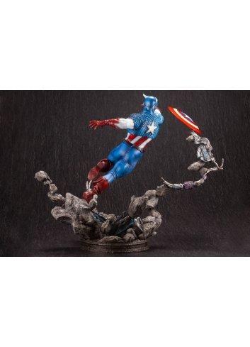 Fine Art Statue Captain America - Kotobukiya