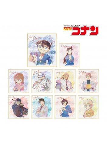 Detective Conan Trading Ani-Art Mini Shikishi Vol. 4 (Box x10) - arma bianca