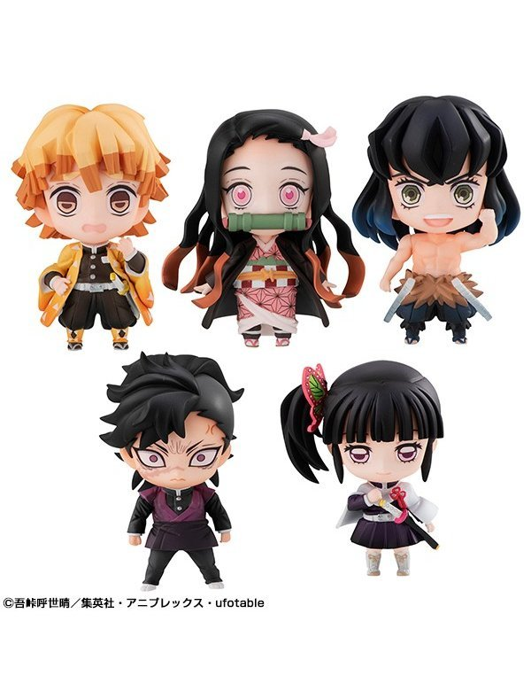 Tanjiro's Friends Mascot (Set / 5 pieces) - Megahouse