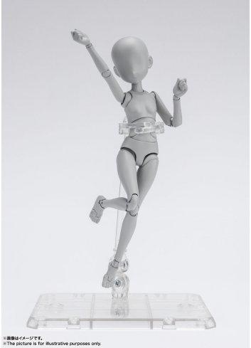 S.H.Figuarts Body-chan (Ken Sugimori Edition) DX SET (Gray Color Ver.)  S.H.Figuarts Body-chan (Ken Sugimori Edition) DX SET (Gr